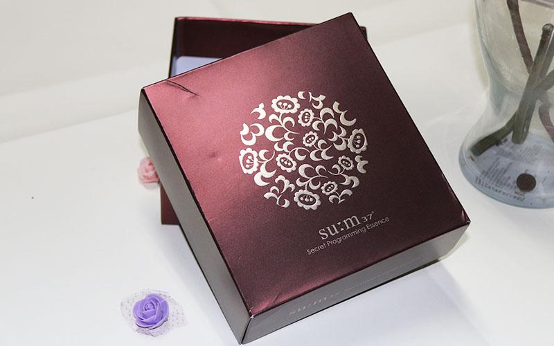 包装盒定制,包装盒设计,高档化妆品包装盒印刷