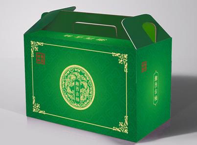 三,手提式纸盒包装结构设计