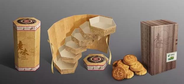 五,变形式纸盒包装结构设计
